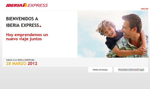 Iberia Express cooming soon